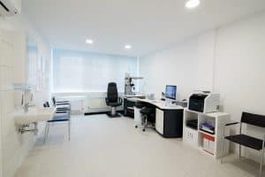 Augenarztzimmer Lux Augenzentrum