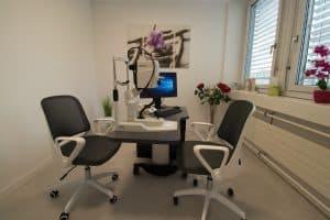 OCT-Untersuchungszimmer
